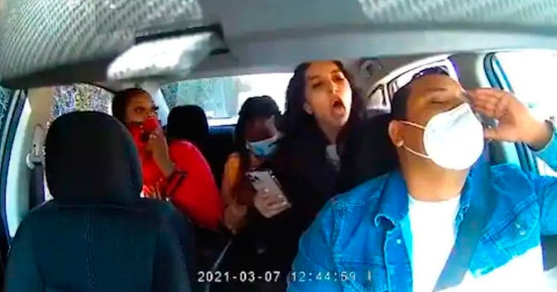 TOSE-AGRESION-UBER
